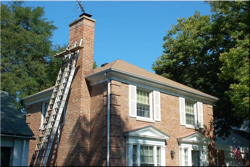 chimney-restoration-Chicago-chimney-flashing Chicago